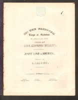 1850 Largo Al Factotum from The Barber of Seville C Rossini ca1850