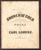 1856 Shower Of Gold Carl Lorenz Mrs Annie Edwards