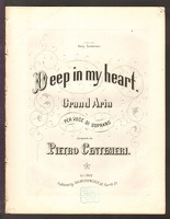 1857 Deep In My Heart ca1857 Pietro Centemeri