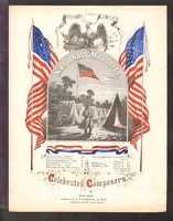 1861 Star Spangled Banner ca1861