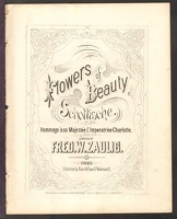 1867 Flowers Of Beauty Fred W Zaulig