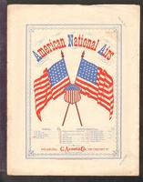 1876 Star Spangled Banner American National Airs