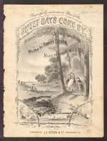 1877 Sweet Days Gone By Fred Walz Samuel Callen J S Cox Philadelphia PA