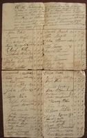 1799 Hunterdon Alexandria Promise to Pay Minister -1