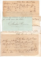 1840 Somerset Rocky Hill Receipts Shann Staats