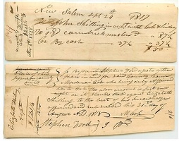 1817-8 Fairfield New Salem Receipts -2