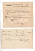 1838 Morgan McConnelsville Notice to Appear Iliff Guthrie