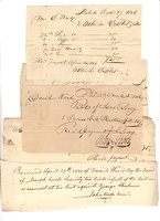 1829-36 Philadelphia Receipts Ward -1