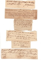 1790-5 Albemarle County Various Documents